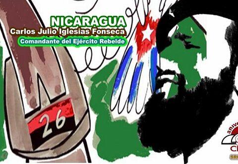 Nicaragua, Comandante del Ejército Rebelde, en la fuga de los presos de Boniato. Imagen web: Santiago Romero Chang