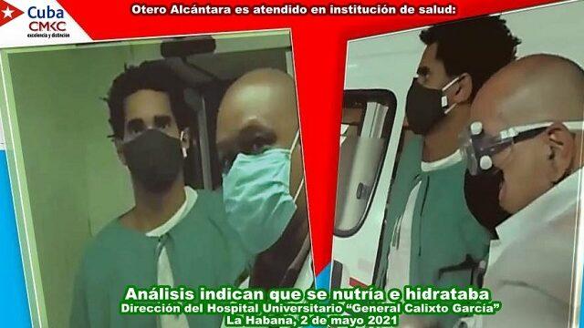 Otero Alcántara es atendido en institución de salud: Análisis indican que se nutría e hidrataba. Imagen web: Santiago Romero Chang