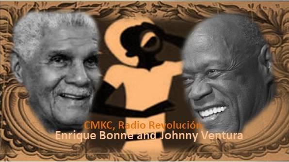 Enrique Bonne and Johnny Ventura are together in a musical adventure.Imagen web: Santiago Romero Chang
