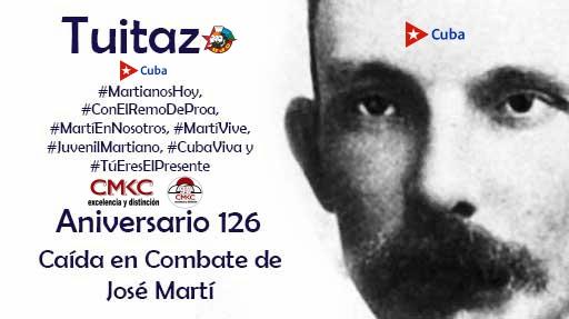 Hoy, twittazo Mil maneras, todas jóvenes, honrar a José Martí