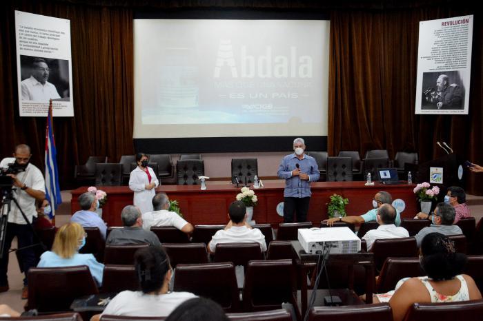 Abdala, con tres dosis, tiene una eficacia de 92,28 %. Felicitaciones en nombre del pueblo de Cuba a quienes hicieron posible este éxito