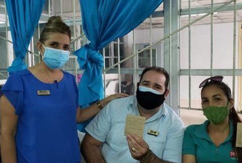 Intervención sanitaria contra COVID-19 en sector turístico en Santiago de Cuba