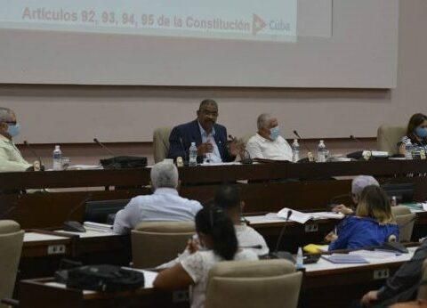 Diputados analizan cuatro anteproyectos de leyes vinculados con el sistema judicial de Cuba