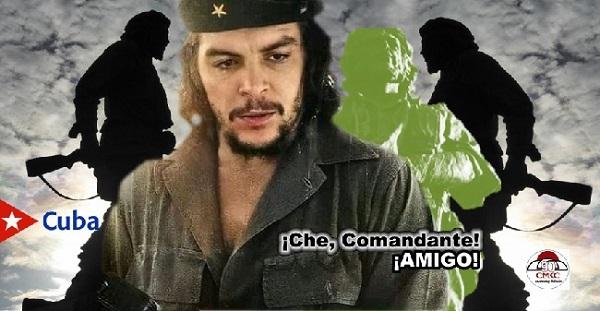 Nuestro Ernesto -Che- Guevara en el Aniversario Eterno de su presencia. Imagen web: Santiago Romero Chang