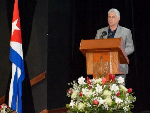Miguel Mario Díaz-Canel Bermúdez, Primer Secretario del Comité Central del Partido Comunista de Cuba y Presidente de la República