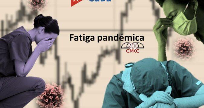 ¡Atención! Fatiga pandémica a la vista. Imagen web: Santiago Romero Chang