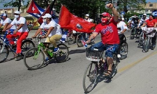 ¡NO al bloqueo contra Cuba!. Solidaridad que se multiplica en el mundo.