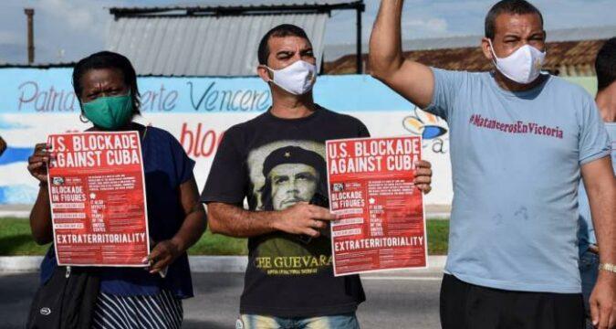 ¡NO al bloqueo contra Cuba!. Solidaridad que se multiplica en el m