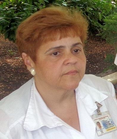 Dra. Margarita Arguelles Arza, directora del CPGM de Santiago de Cuba