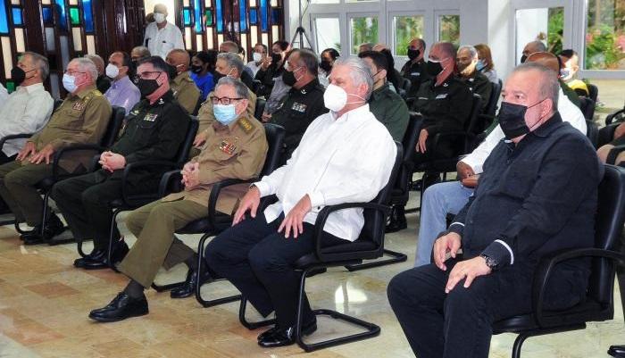 Raúl y Díaz-Canel en los 60 del Minint: La Revolución no existiría sin el Ministerio del Interior