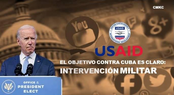 Biden, la USAID y las redes ilegales de comunicación para la subversión en Cuba