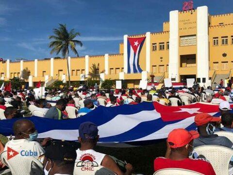 Santiago de Cuba, la Ciudad Héroe, en otro llamado por el fin del bloqueo, la Paz y la unidad