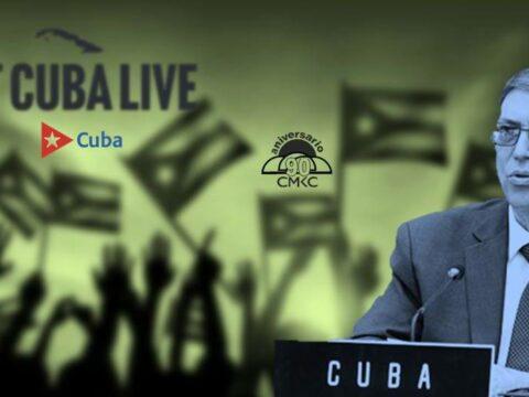 Canciller cubano Bruno Rodríguez Parrilla