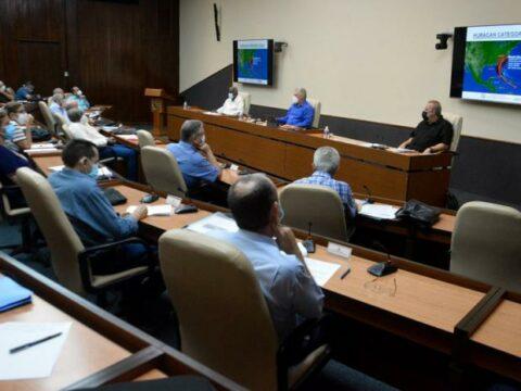 Grupo Temporal de Trabajo del Gobierno para el enfrentamiento a la COVID-19, y del Órgano Económico-social del Consejo de Defensa Nacional