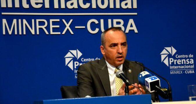 Ernesto Soberón, director general de Asuntos Consulares Cubanos Residentes en el Exterior del Ministerio de Relaciones Exteriores (MINREX) Foto: Ricardo López Hevia