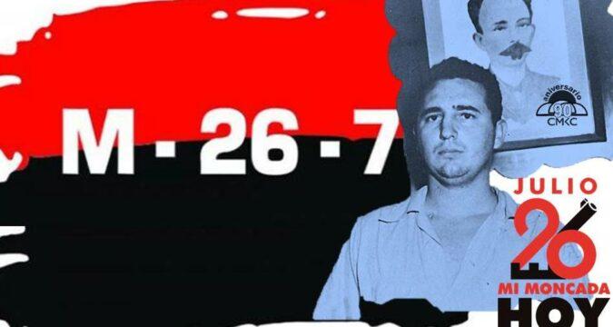 Fidel reivindicó los sucesos del 26 de julio de 1953, en Santiago de Cuba y Bayamo