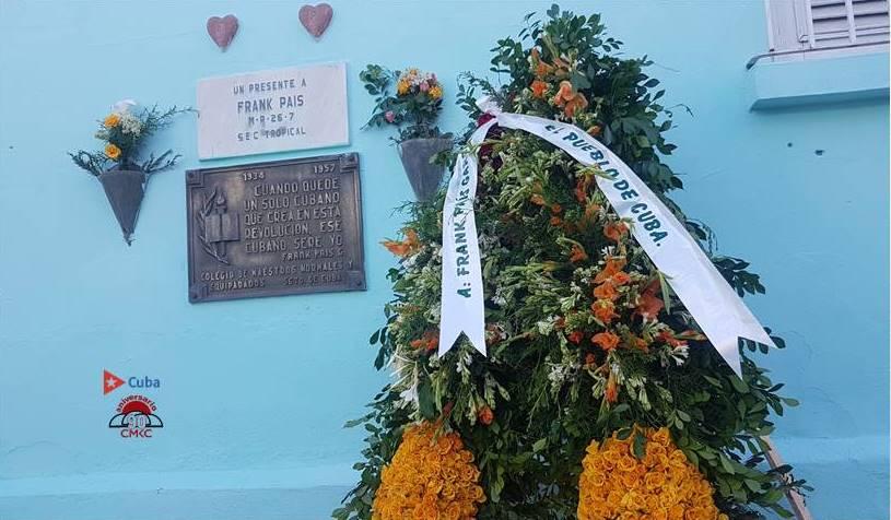 Frank País García a 64 años de su asesinato en Santiago de Cuba. Foto: Santiago Romero Chang