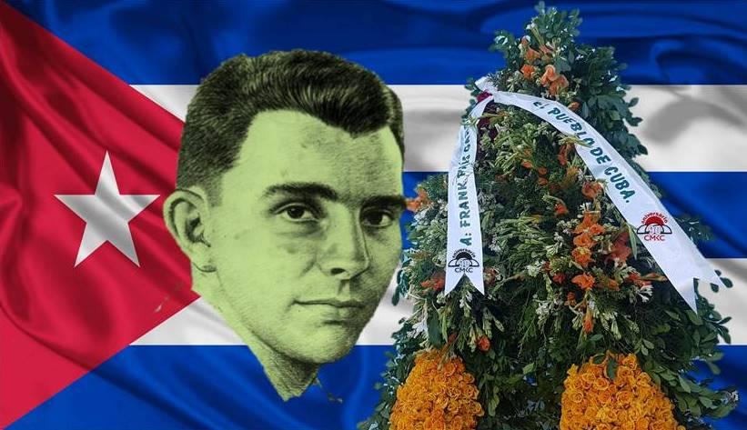 Frank País García a 64 años de su asesinato en Santiago de Cuba