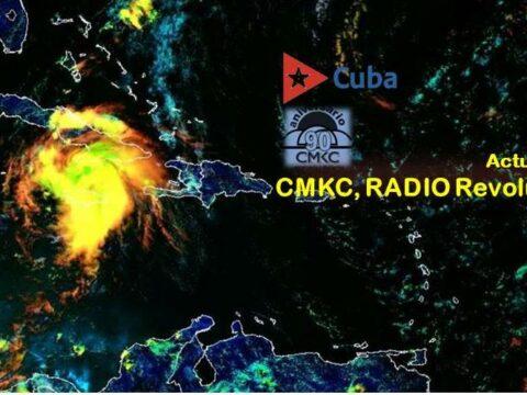 Modelo del 4 de julio. Huracán Elsa azota el Caribe