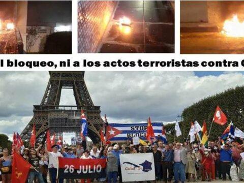 Cuba denunció atentado contra su Embajada en Francia