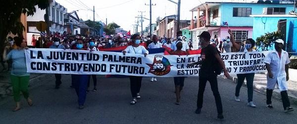 Pueblo de Palma Soriano en reafirmación revolucionaria.