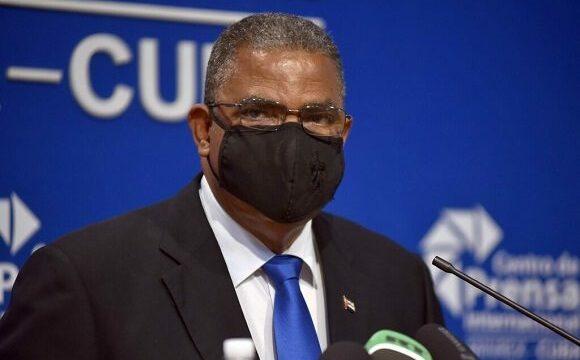 Rubén Remigio Ferro, presidente de Tribunal Supremo Popular de la República de Cuba. Foto: ACN