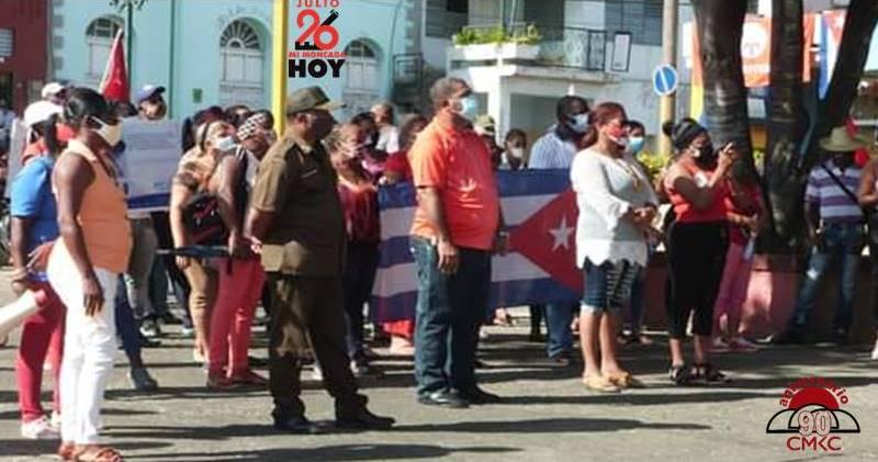 Mi Moncada Hoy, Como toda Cuba, en Songo-La Maya nos multiplicamos como millones