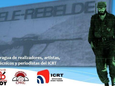 El Canal Tele Rebelde surgió hace 53 años en Santiago de Cuba como fragua de muchos talentos