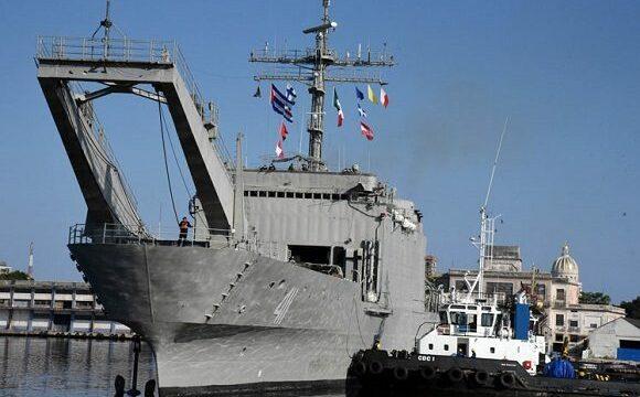 Llega a Cuba segundo buque mexicano con ayuda humanitaria