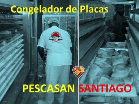 Garantiza Pescasan Santiago calidad con novedoso congelador de placa