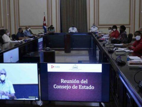 Sesionó Consejo de Estado