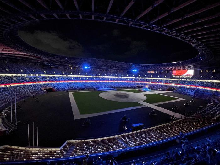 Tokyo 2020 Games closing ceremony: Athletes parade at the Olympic Stadium
