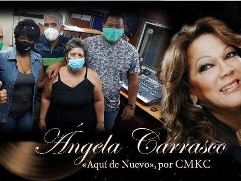 """Ángela Carrasco en entrevista exclusiva por CMKC, Radio Revolución: """"Aquí de Nuevo"""""""
