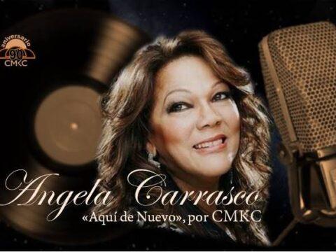 """Angela Carrasco en entrevista exclusiva por CMKC: """"Aquí de Nuevo"""""""