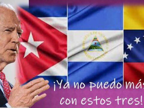 Biden sigue el guión de bloqueo contra Cuba, Nicaragua y Venezuela