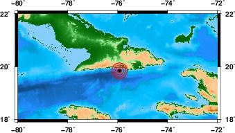 Primer temblor perceptible fue a las 7:41 am, hoy domingo y con magnitud 4.4 en la escala Richter