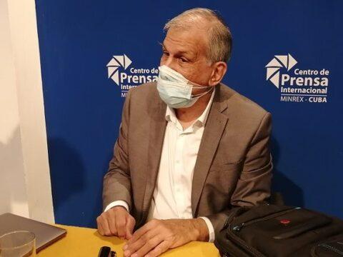 El doctor Mitchell Valdés-Sosa, director general del Centro de Neurociencias de Cuba y responsable del Comité de Expertos. Foto: Andy Jorge Blanco