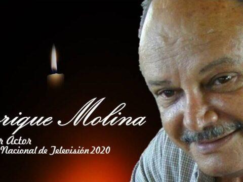 Lamenta CMKC Adiós de Enrique Molina, Primer Actor y Premio Nacional de Televisión 2020