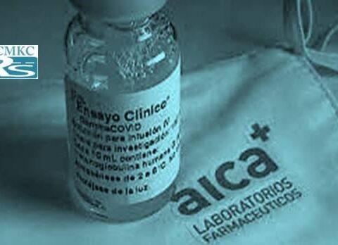 ensayo clínico con Gammaglobulina anti-SARS-COV-2