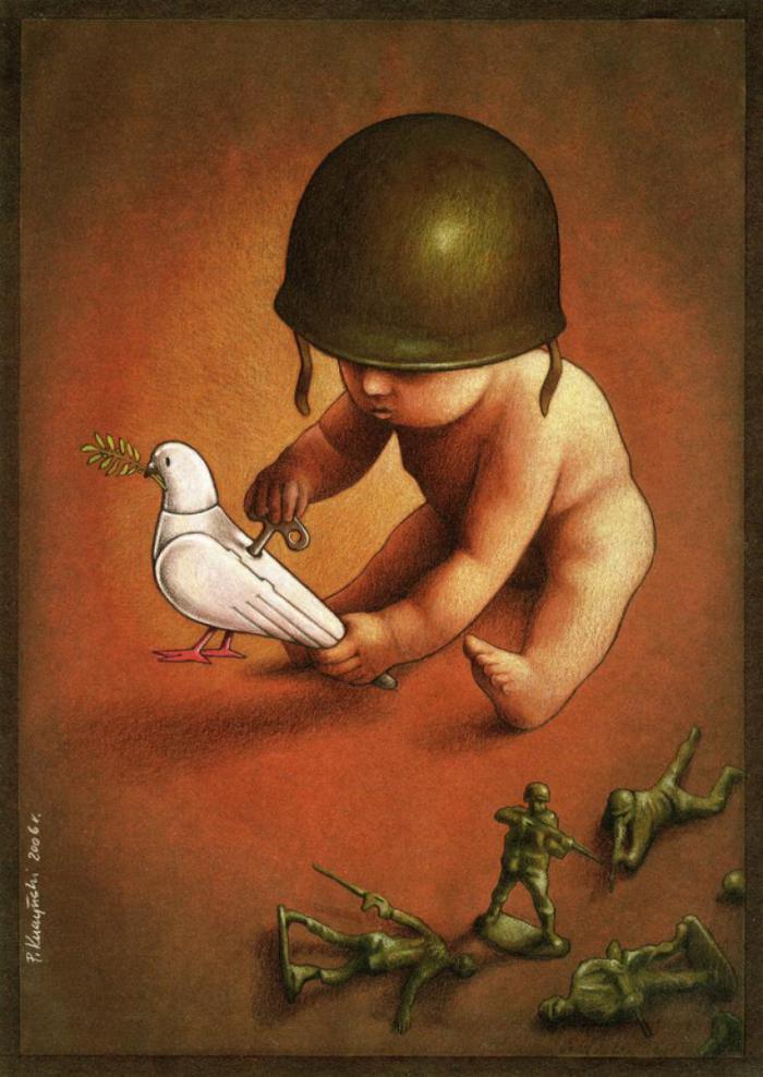 Jugando a laguerra conra la paz de nuestros inocentes