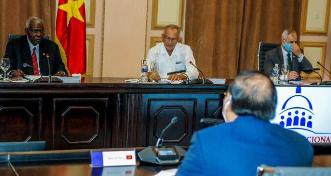 Sostuvo el Presidente de Vietnam un encuentro con Esteban Lazo