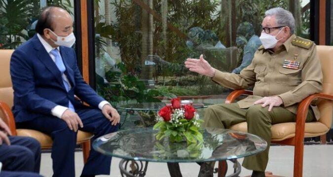 Recibió Raúl al Presidente vietnamita