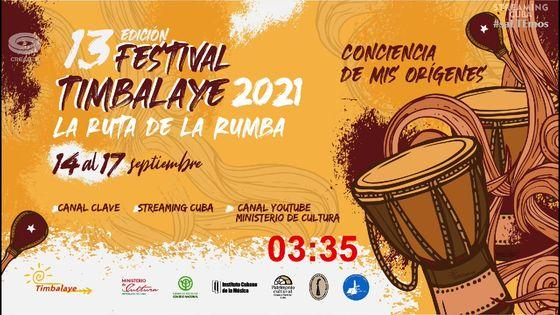 Festival Timbalaye en StreamingCuba