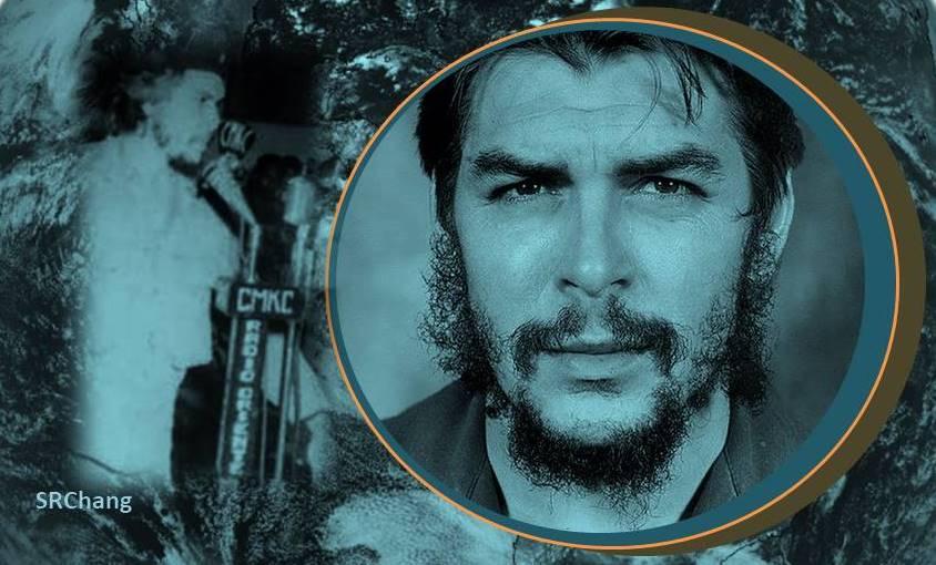 El Che en CMKC, Radio Revolución, señal de Excelencia y Distinción. Portada: Santiago Romero Chang