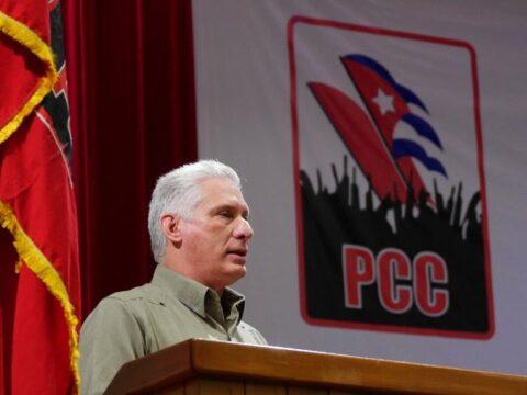 Clausura del II Pleno del Comité Central del Partido Comunista de Cuba, cuyas palabras centrales estuvieron a cargo del Primer Secretario del Comité Central y Presidente de la República, Miguel Díaz-Canel Bermúdez