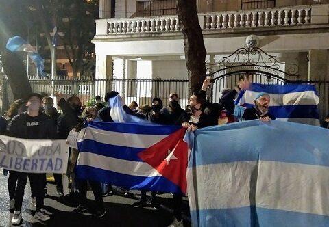 La extrema derecha sostiene intenciones de agredir embajada cubana en Argentina