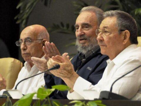 Fidel, Raúl y Machado Ventura