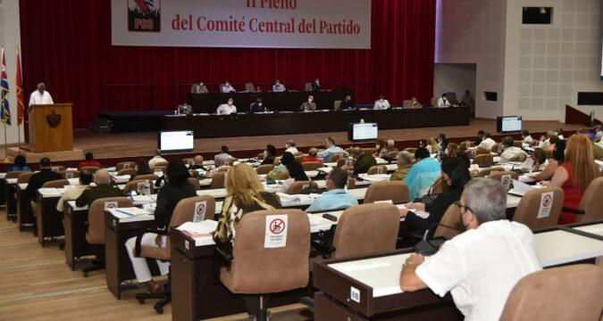Hoy 2do. día del II Pleno del Comité Central