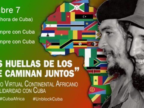 Evento continental de África en Solidaridad con Cuba